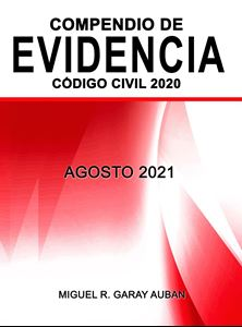 Picture of Compendio de Evidencia Código Civil 2020. Agosto 2021