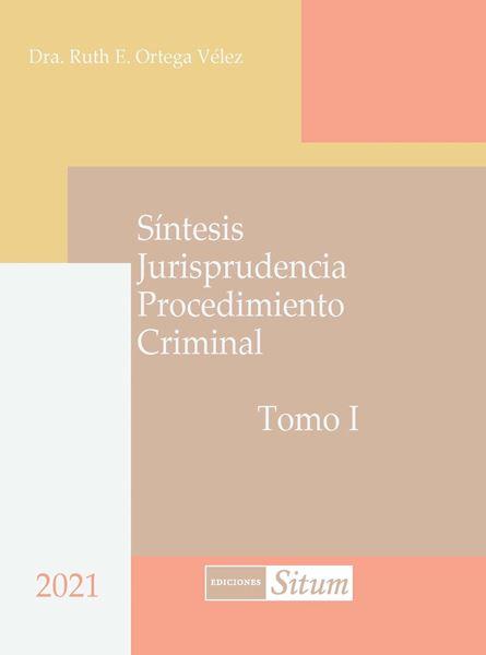 Picture of Síntesis Jurisprudencia Procedimiento Criminal 2 tomos